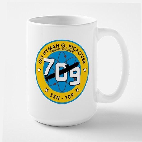 USS Hyman G. Rickover SSN 709 Mugs
