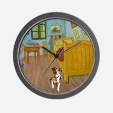 Pets Van  Gogh Room Wall Clock