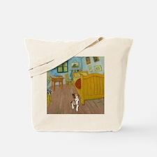 Pets Van  Gogh Room Tote Bag