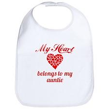 My Heart Belongs To My Auntie Bib