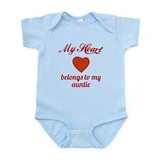 My Heart Belongs To My Auntie Body Suit