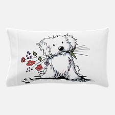 Coton de Tulear Gardener Pillow Case