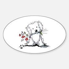 Coton de Tulear Gardener Decal