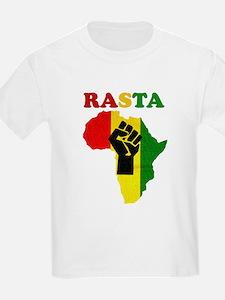 Rasta Black Power Afric Women's Cap Sleeve T-Shirt