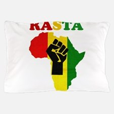 Rasta Black Power Africa Pillow Case
