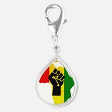 Rasta Black Power Africa Charms