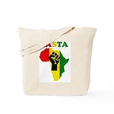Rasta Black Power Africa Tote Bag