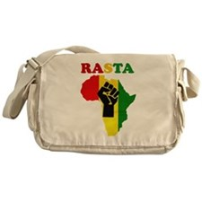 Rasta Black Power Africa Messenger Bag
