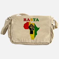 Rasta Black Power Africa Messenger Bag
