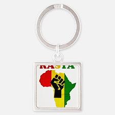 Rasta Black Power Africa Keychains