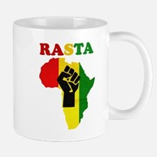 Rasta Black Power Africa Mugs