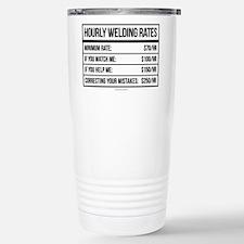 Hourly Welding Rates Stainless Steel Travel Mug