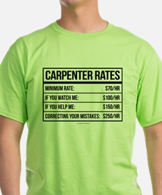 Funny Carpenter Rates T-Shirt