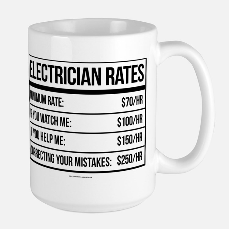 Electrician funny coffee mugs electrician funny travel mugs cafepress - Funny coffee thermos ...