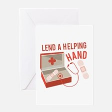 A Helping Hand Greeting Cards