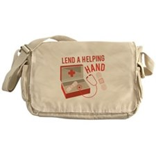 A Helping Hand Messenger Bag