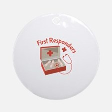 First Responders Ornament (Round)