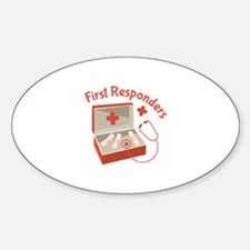 First Responders Decal