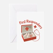 First Responders Greeting Cards