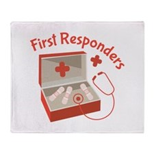 First Responders Throw Blanket