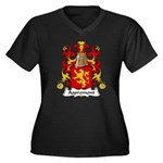 Aspremont Family Crest Women's Plus Size V-Neck Da