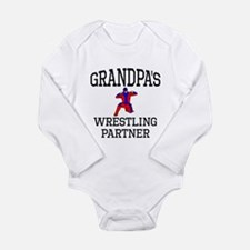 Grandpas Wrestling Partner Body Suit