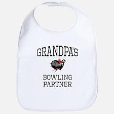 Grandpas Bowling Partner Bib