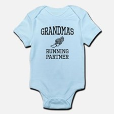 Grandmas Running Partner Body Suit