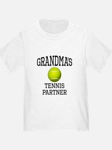 Grandmas Tennis Partner T-Shirt