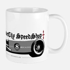 Custom Lucky 8 Hot Rod Mug