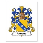 Arnoud Family Crest Small Poster