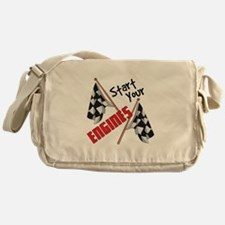 Start Your Engines Messenger Bag