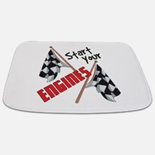 Start Your Engines Bathmat
