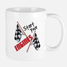 Start Your Engines Mugs