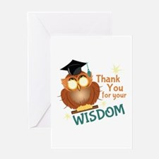 Your Wisdom Greeting Cards