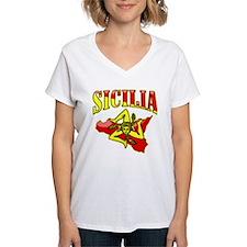 Sicilia Sicilian T-Shirts Trinacria Shirt