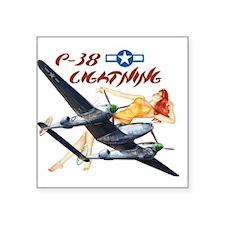 P-38 2.jpg Sticker