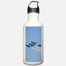 Blue Angels over Texas Water Bottle