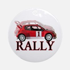 ...Rally Red... Ornament (Round)