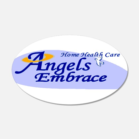 ANGELS EMBRACE Wall Decal
