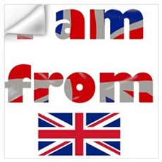 I am from England , Great Britain Wall Decal