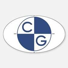 Cute Center Sticker (Oval 10 pk)