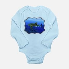 Whale Shark Long Sleeve Infant Bodysuit