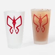 Monarch! Drinking Glass