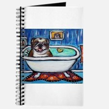 English Bulldog Bathtime Journal