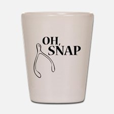 Oh, Snap Thanksgiving Wishbone Shot Glass