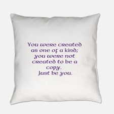 Unique Positive message Everyday Pillow