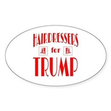 Hairdressers for Trump Decal