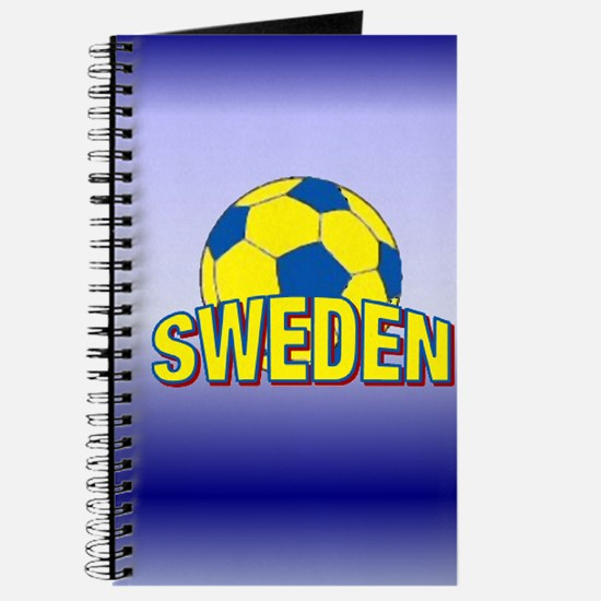 "5""x8"" Team Sweden Soccer Journal"