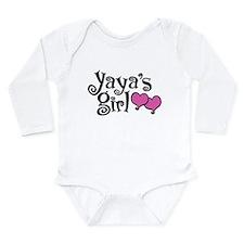 Yaya's Girl Long Sleeve Infant Bodysuit